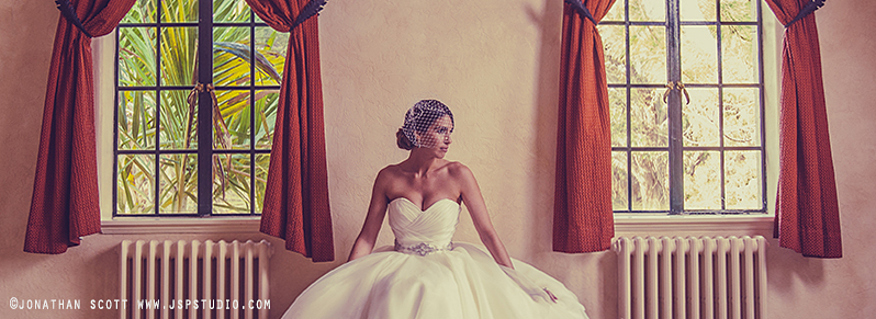 picture of vintage wedding hair style